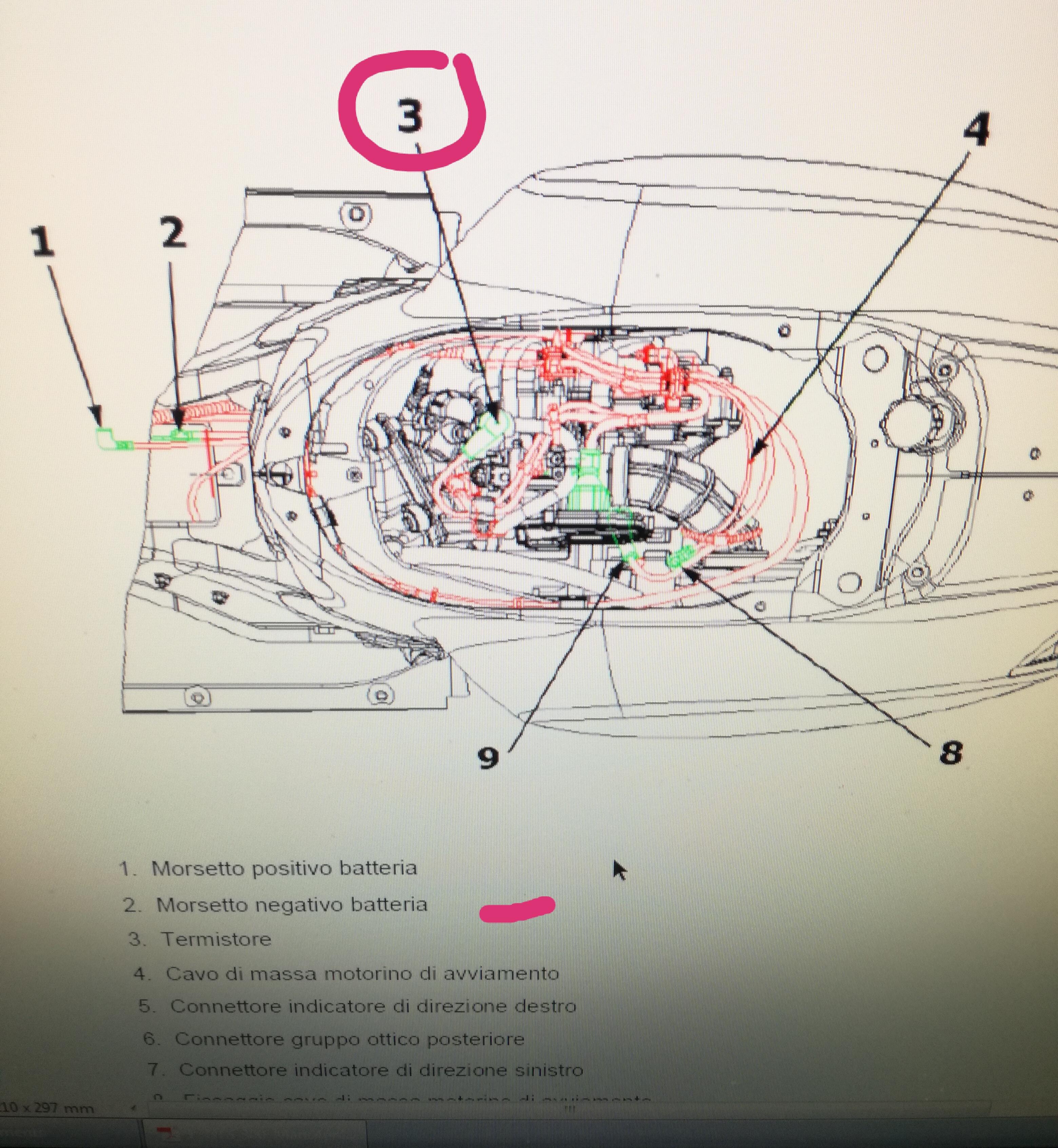 Schema Elettrico Ventola Radiatore : Giro la chiave e parte la ventola elettrica modernvespa